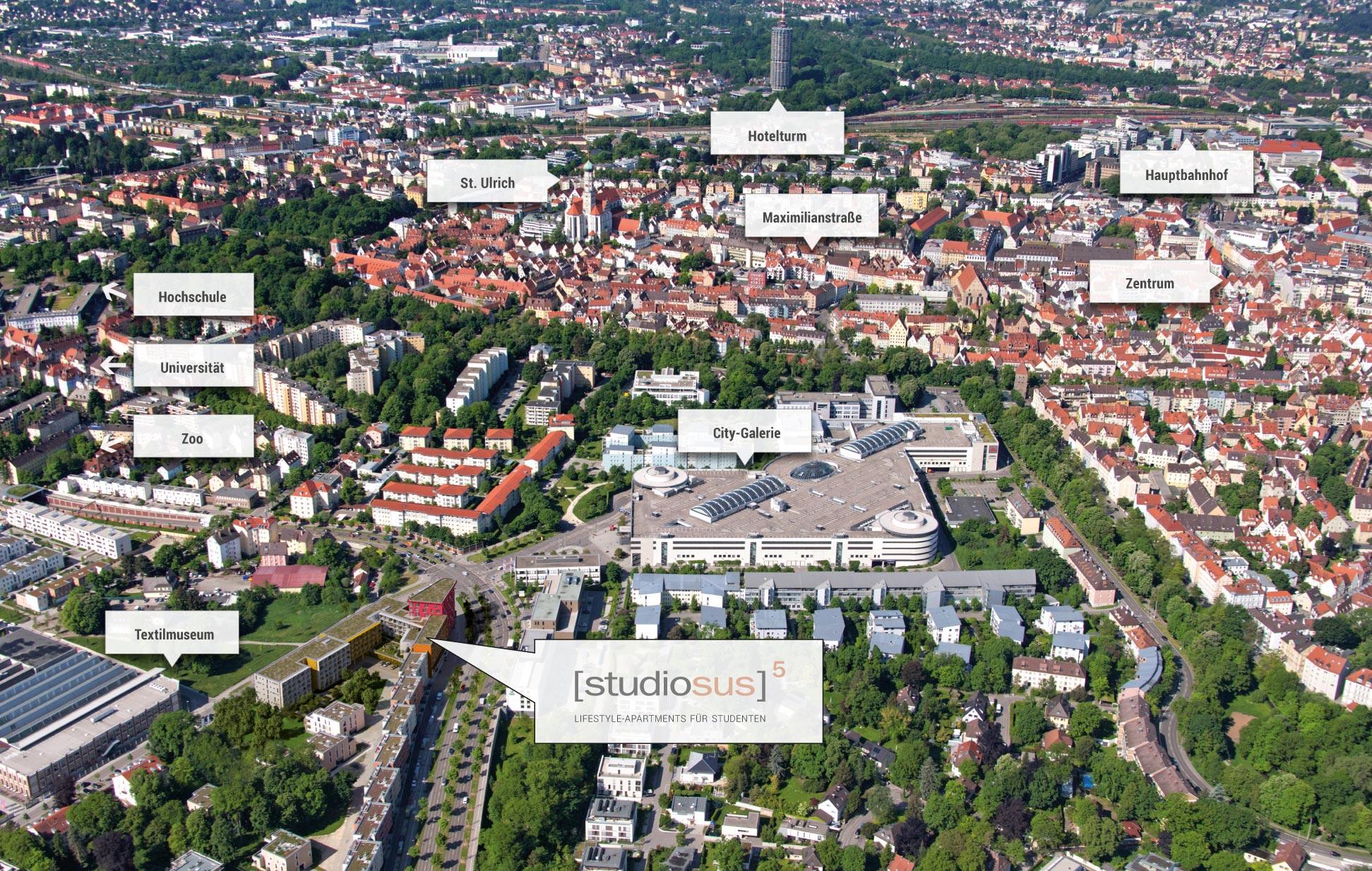 Studiosus 5 Studentenwohnungen Amp Apartments In Augsburg