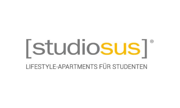 Logo Konzeptmarke studiosus Lifestyle-Apartments für Studenten