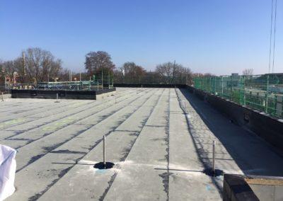 abgedichtete Dachfläche